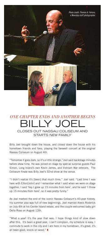 Billy Joel Luxury Living