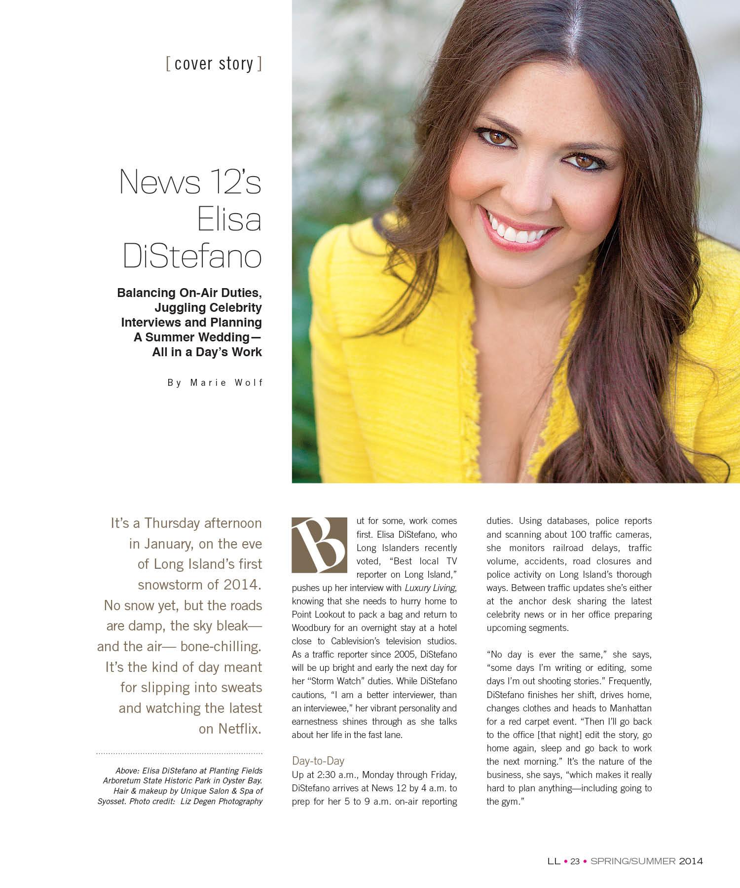 Press | Elisa DiStefano